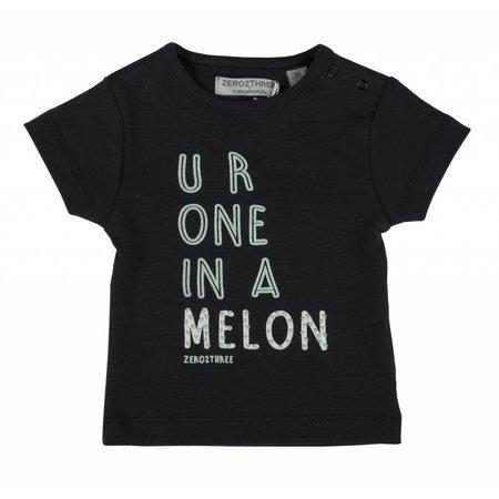 Zero2Three T-shirt antraciet