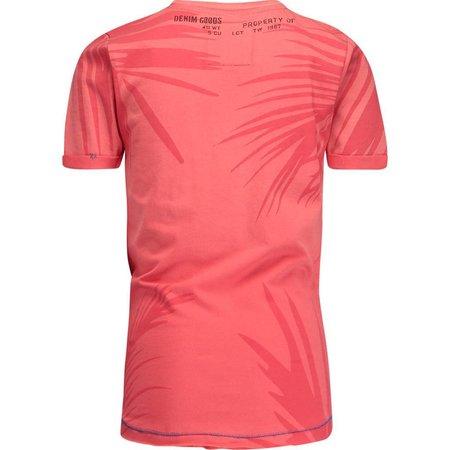 Vingino Vingino T-shirt Hasib coral punch red