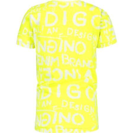 Vingino Vingino T-shirt Hias neon yellow