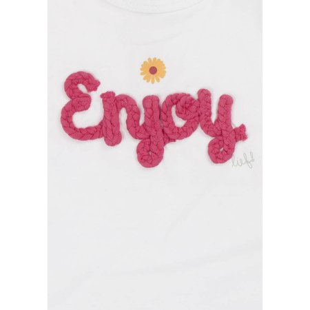 Lief! Lifestyle Lief! T-shirt wit enjoy