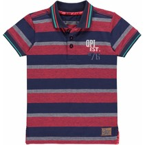Polo Kareem red stripe