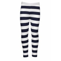 Legging  stripe navy
