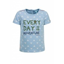 T-shirt adventure blue