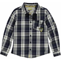 Blouse Lander Navy Check