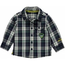 Blouse Marc navy check