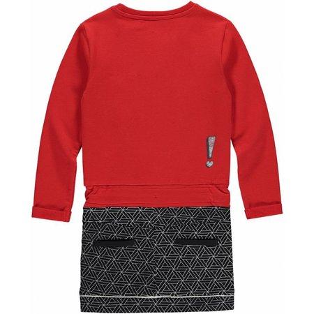 Quapi Quapi jurk Lente diva red