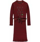 Quapi Quapi jurk Leslie diva red stripe