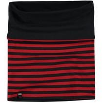Reversibel sjaal Lea 2 diva red stripe