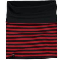 Quapi reversibel sjaal Lea 2 diva red stripe