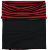 Quapi Quapi reversibel sjaal Lea 2 diva red stripe