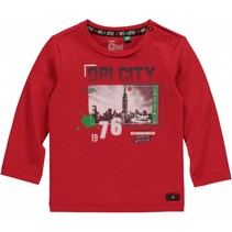 Longsleeve Mart red