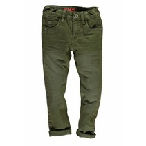 Skinny spijkerbroek extra soft & stretchy d. army
