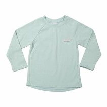 Longsleeve Faded aqua