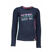 Longsleeve supergirls artwork peacock