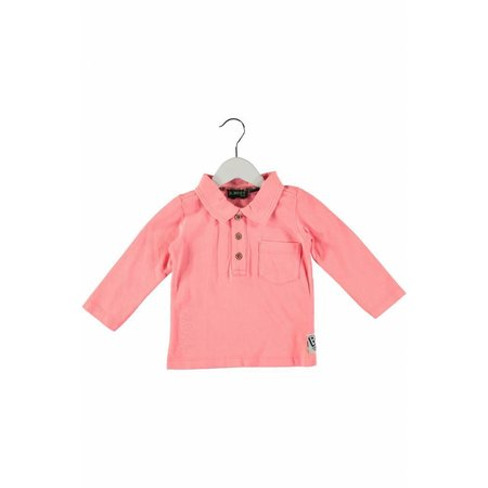 B.Nosy B.Nosy longsleeve mini garment dye polo tiger