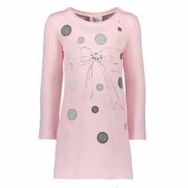 Jurkje dots & bow tunic pink crystal