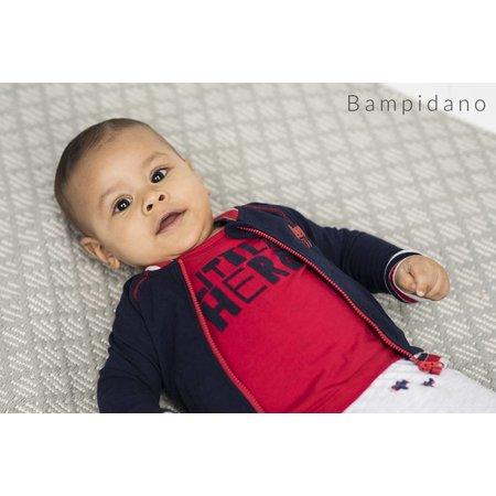Bampidano Bampidano longsleeve little hero red