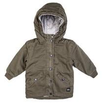 Jas long jacket grn