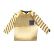 Longsleeve stripes olv.
