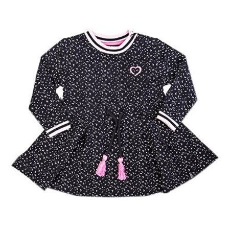 Beebielove Beebielove jurk sweat dress 1 mul