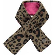 Sjaal Laurianne leopard