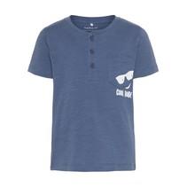 T-shirt Ganders vintage indigo