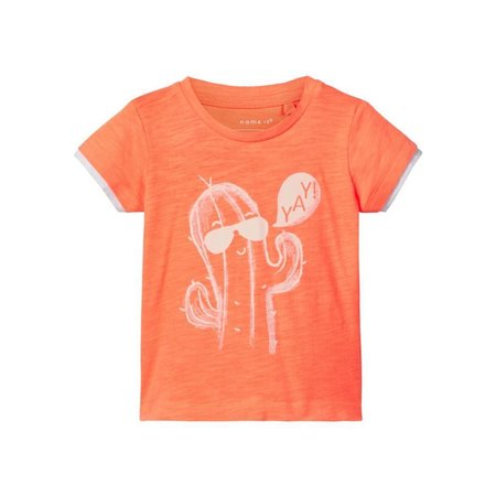 Name It Name It T-shirt Desimon shocking orange