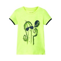 T-shirt Desimon neon lime