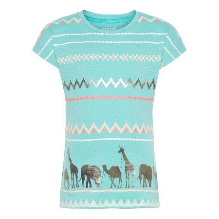 Name It Name It T-shirt Garjola pool blue