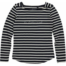 Longsleeve Abeni night blue stripe