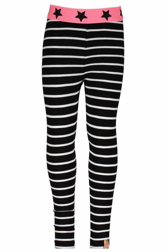 015d50a6b3a B.Nosy legging ao printed stripe black marshmallow | Hippe Mensjes ...
