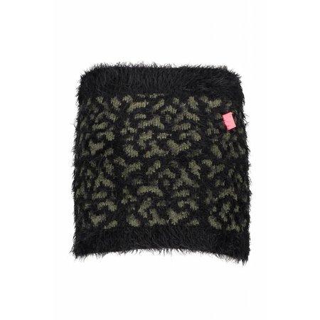 B.Nosy B.Nosy rokje panther knit black/ croco