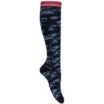 Kniekousen Leentje 3 dark blue camouflage