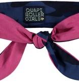 Quapi Quapi reversibel Haarband Lena 3 dark blue camouflage