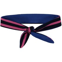 Reversibel Haarband Lena 3 dark blue stripe