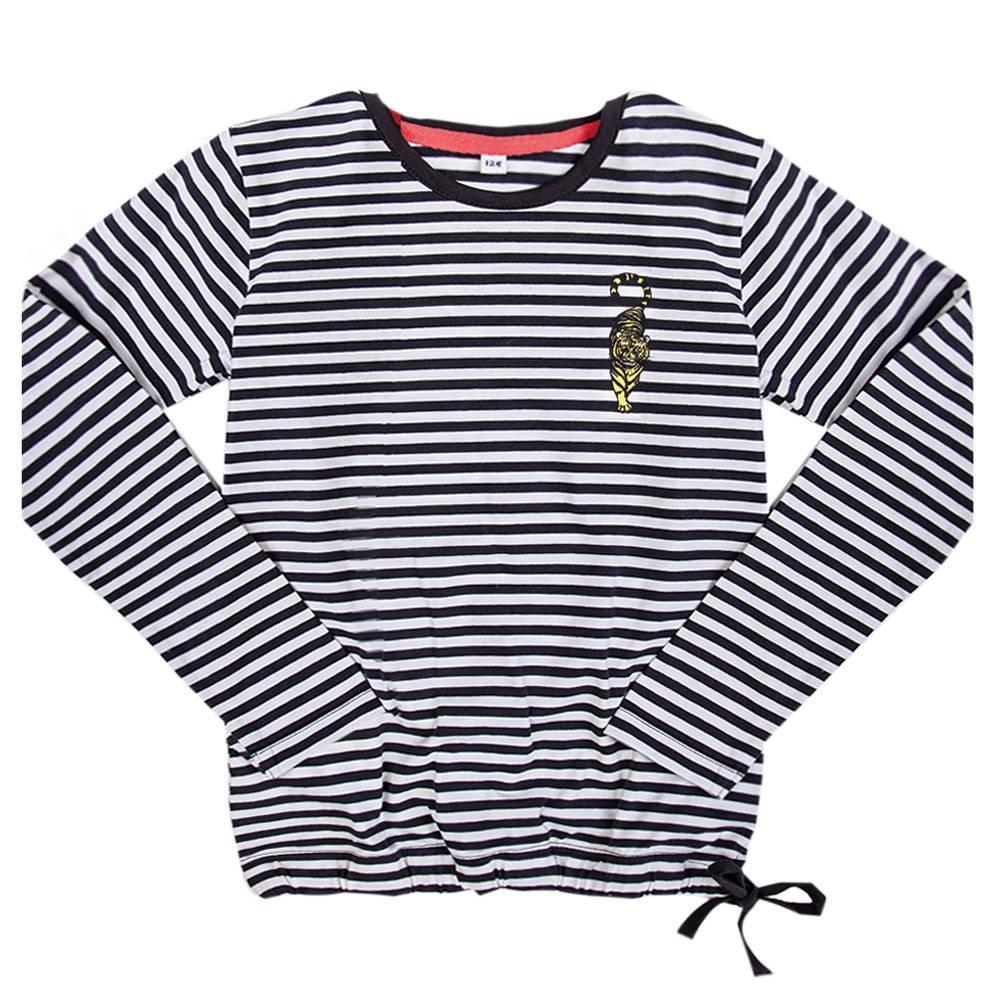Little Miss Juliette Little Miss Juliette longsleeve stripe (elvy's wereld)