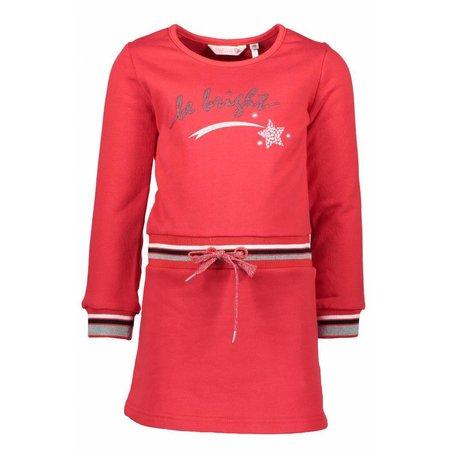 Bampidano Bampidano jurkje sweat dress red