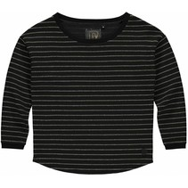 Longsleeve Anabel black stripe
