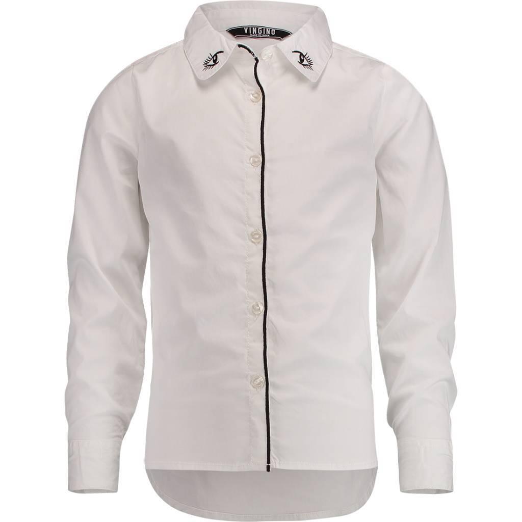 Vingino Vingino blouse Lockata real white