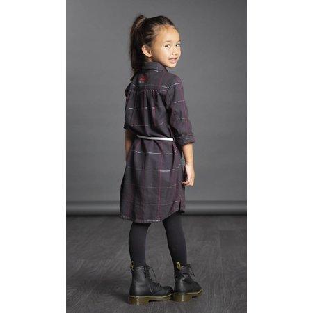Quapi Quapi jurk Lavendel midnight grid