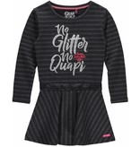 Quapi Quapi jurk Laurien silver stripe