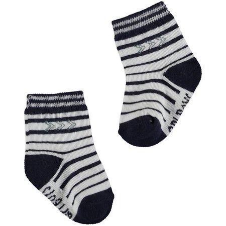 Quapi Quapi sokjes Zergio dark blue stripe