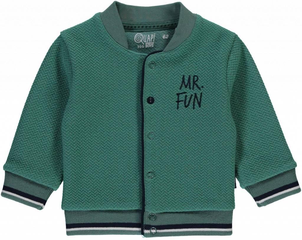 Quapi Quapi vest Zander vintage green