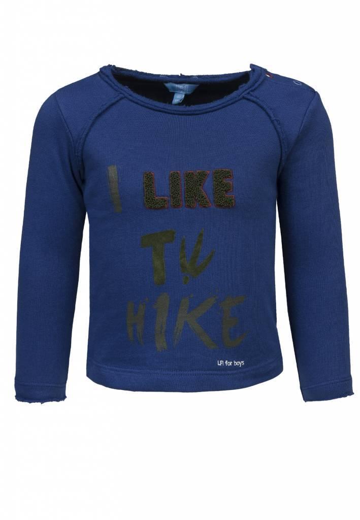 Lief! Lifestyle Lief! Lifestyle trui hike estate blue