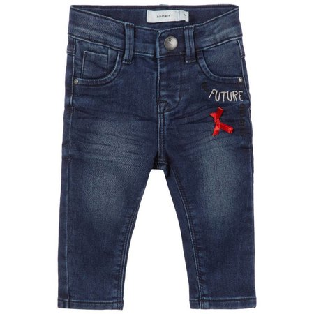 Name It Name It spijkerbroekje Salli dark blue denim