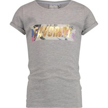 T-shirt Henrise light grey melee