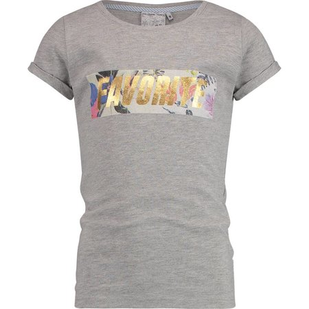 Vingino Vingino T-shirt Henrise light grey melee