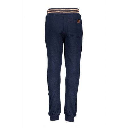 B.Nosy B.Nosy broek with piping on the side midnight blue
