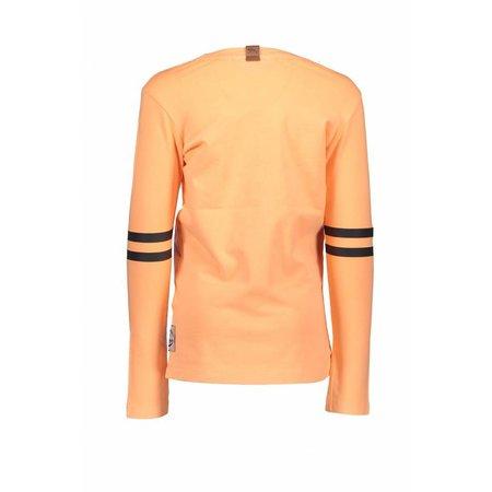 B.Nosy B.Nosy longsleeve garment dye shirt neon orange