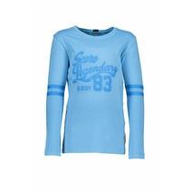 Longsleeve garment dye shirt pacific